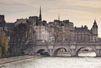 Pont Neuf and the Ile de la Cite in Paris, France, Europe