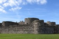 Beaumaris Castle, UNESCO World Heritage Site, Anglesey, Wales, United Kingdom, Europe 20062001431| 写真素材・ストックフォト・画像・イラスト素材|アマナイメージズ