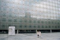 The Institute du Monde Arabe, Paris, France, Europe 20062001723  写真素材・ストックフォト・画像・イラスト素材 アマナイメージズ