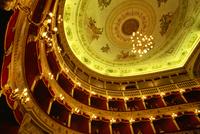 Teatro Pirandello theatre, Agrigento, Sicily, Italy, Europe