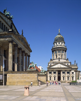 The Theatre and French Cathedral in Berlin, Germany, Europe