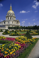 Dome church, housing Napoleon's tomb, Hotel des Invalides, Paris, France, Europe