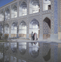 Madresseh-ye Chahar Bagh, previously Madar-e-Shah, Theological College, Isfahan (Esfahan), Iran, Middle East 20062002985| 写真素材・ストックフォト・画像・イラスト素材|アマナイメージズ