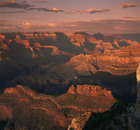 The Grand Canyon at sunset from the South Rim, UNESCO World Heritage Site, Arizona, United States of America, North America 20062003150| 写真素材・ストックフォト・画像・イラスト素材|アマナイメージズ