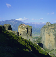 Holy monastery of Aghia Triada (Holy Trinity), Meteora, UNESCO World Heritage Site, Greece, Europe