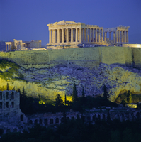 The Parthenon and Acropolis, UNESCO World Heritage Site, Athens, Greece, Europe