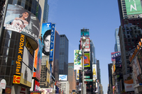 Billboards and modern highrise buildings in Times Square, New York City, New York, United States of America, North America 20062004384| 写真素材・ストックフォト・画像・イラスト素材|アマナイメージズ