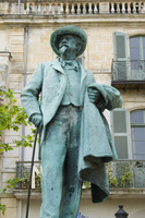 A statue of Van Gogh in Arles, Bouches-du-Rhone, France, Europe