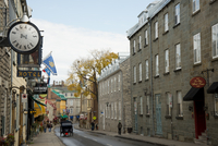 A view of Rue St. Louis in the Old Town, UNESCO World Heritage Site, Quebec City, Quebec Province, Canada, North America