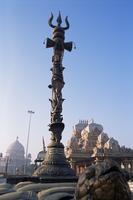 Chattapur Temple complex, Delhi, India, Asia