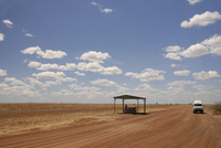 Flatlands south of the Gulf of Carpenteria, crossed by the Cloncurry to Normanton highway, Queensland, Australia, Pacific 20062006254| 写真素材・ストックフォト・画像・イラスト素材|アマナイメージズ