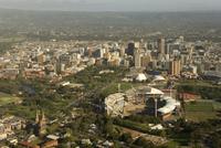 Air view of downtown Adelaide, South Australia, Australia, Pacific