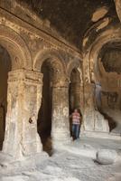 Selime, Ihlara, western Cappadocia, Anatolia, Turkey, Asia Minor, Eurasia