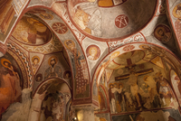 Apple Church, Goreme, UNESCO World Heritage Site, Cappadocia, Anatolia, Turkey, Asia Minor, Eurasia 20062006424| 写真素材・ストックフォト・画像・イラスト素材|アマナイメージズ