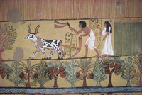 Tomb of Sinjin, chief artist to Rameses II, Deir el Medina, Thebes, UNESCO World Heritage Site, Egypt, North Africa, Africa