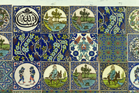 Modern and traditional designs from Tukahya, Anatolia, Turkey, Asia Minor, Eurasia