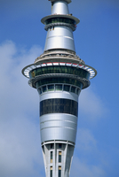 The Sky City Tower above the Sky City Casino in downtown Auckland, North Island, New Zealand, Pacific