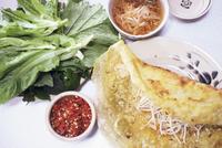 Banh ceo pancackes, Ho Chi Minh City, Vietnam, Indochina, Southeast Asia, Asia 20062008263| 写真素材・ストックフォト・画像・イラスト素材|アマナイメージズ