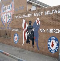 Loyalist mural, Shankill Road, Belfast, Northern Ireland, United Kingdom, Europe 20062008377| 写真素材・ストックフォト・画像・イラスト素材|アマナイメージズ