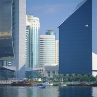 Modern architecture, Dubai, United Arab Emirates, Middle East