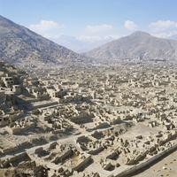 Devastation caused by Civil War 1991-1996, Kabul, Afghanistan 20062008482| 写真素材・ストックフォト・画像・イラスト素材|アマナイメージズ