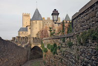 The ancient fortified city of Carcassone, UNESCO World Heritage Site, Languedoc-Roussillon, France, Europe 20062008636| 写真素材・ストックフォト・画像・イラスト素材|アマナイメージズ