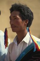 Tibetan, coming of age ritual, Qinghai, China, Asia 20062008859| 写真素材・ストックフォト・画像・イラスト素材|アマナイメージズ