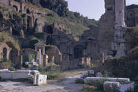 Ruins of Pompeii, destroyed in volcanic eruption of AD 79, Pompeii, UNESCO World Heritage site, Campania, Italy, Europe
