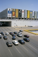 Downtown, main thoroughfare and shopping mall, Brasilia, Brazil, South America