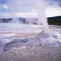 Hverquellir geothermal area, interior highlands, Iceland, Polar Regions 20062009535| 写真素材・ストックフォト・画像・イラスト素材|アマナイメージズ