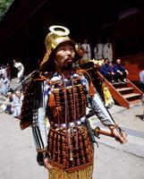 The Samurai Festival at Toshogu Shrine, Nikko, Japan, Asia 20062010174| 写真素材・ストックフォト・画像・イラスト素材|アマナイメージズ