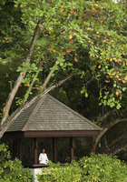 Meditation at the Spa Village, Pangkor Laut Resort, Pangkor Laut, Malaysia, Southeast Asia, Asia 20062010525| 写真素材・ストックフォト・画像・イラスト素材|アマナイメージズ