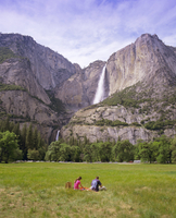 Upper Yosemite Falls, Yosemite National Park, UNESCO World Heritage Site, California, USA, North America 20062011638| 写真素材・ストックフォト・画像・イラスト素材|アマナイメージズ