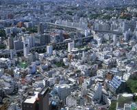 Aerial of the skyline of Tokyo, Japan, Asia 20062012435| 写真素材・ストックフォト・画像・イラスト素材|アマナイメージズ