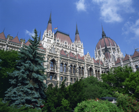 The Parliament Building in the Pest area of Budapest, Hungary, Europe 20062012470| 写真素材・ストックフォト・画像・イラスト素材|アマナイメージズ