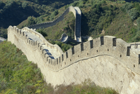 The Great Wall of China, UNESCO World Heritage Site, China, Asia 20062012677| 写真素材・ストックフォト・画像・イラスト素材|アマナイメージズ