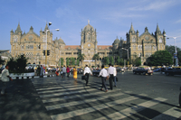 Victoria Railway Station (Victoria Terminus), Mumbai (Bombay), Maharashtra State, India, Asia 20062012759| 写真素材・ストックフォト・画像・イラスト素材|アマナイメージズ