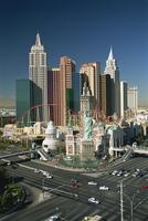 New York Casino, The Strip, Las Vegas, Nevada, United States of America, North America 20062012932| 写真素材・ストックフォト・画像・イラスト素材|アマナイメージズ