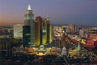 New York, New York Hotel and Casino and the Strip, Las Vegas, Nevada, USA 20062012934| 写真素材・ストックフォト・画像・イラスト素材|アマナイメージズ