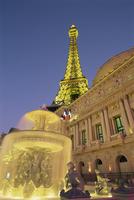 Eiffel Tower, Paris, Las Vegas, Nevada, United States of America, North America 20062012935| 写真素材・ストックフォト・画像・イラスト素材|アマナイメージズ