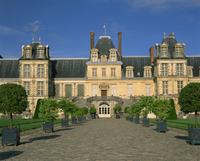 Chateau de Fontainebleau, UNESCO World Heritage Site, Seine et Marne, Ile de France, France, Europe 20062013023| 写真素材・ストックフォト・画像・イラスト素材|アマナイメージズ