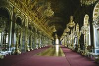 Interior, Herrenchiemsee Castle, Bavaria, Germany, Europe 20062013810| 写真素材・ストックフォト・画像・イラスト素材|アマナイメージズ