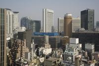 City skyline, Osaka, Japan, Asia 20062014219| 写真素材・ストックフォト・画像・イラスト素材|アマナイメージズ