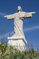 Statue of Christ, Canico, Madeira, Portugal, Europe 20062014308  写真素材・ストックフォト・画像・イラスト素材 アマナイメージズ