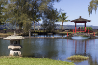 Liliuokalani Gardens, Hilo, Hawaii island (Big Island), Hawaii, United States of America, Pacific 20062014521| 写真素材・ストックフォト・画像・イラスト素材|アマナイメージズ