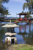 Liliuokalani Gardens, Hilo, Hawaii island (Big Island), Hawaii, United States of America, Pacific 20062014522| 写真素材・ストックフォト・画像・イラスト素材|アマナイメージズ