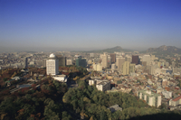 View over the city of Seoul, South Korea, Korea, Asia 20062017141| 写真素材・ストックフォト・画像・イラスト素材|アマナイメージズ