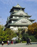 Osaka Castle, Osaka, Japan 20062018171| 写真素材・ストックフォト・画像・イラスト素材|アマナイメージズ