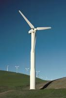 Wind turbine generators, Altamonti Pass, Califorrnia, United States of America, North America 20062018386  写真素材・ストックフォト・画像・イラスト素材 アマナイメージズ
