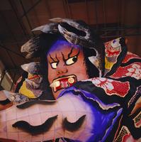 Illuminated festival float made of paper, Kyoto, Japan 20062019583| 写真素材・ストックフォト・画像・イラスト素材|アマナイメージズ